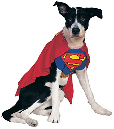 Rubies Costume DC Heroes and Villains Collection Pet Costume – Superman