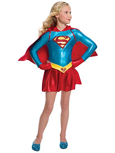 Rubie's Costume Girls DC Comics Supergirl Dress Costume