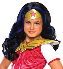 Rubies-Costume-Girls-DC-Super-Hero-Wonder-Woman-Wig-0