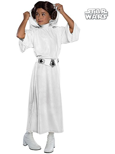 Rubie's Costume Star Wars Classic Princess Leia Deluxe Child Costume