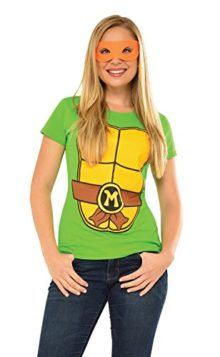 Rubies-Costume-Teenage-Mutant-Ninja-Turtles-Top-With-Mask-and-Michelangelo-0