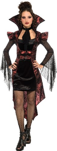 Rubies-Costume-Vampire-Vixen-Dress-With-Attached-Jacket-and-Jabot-0