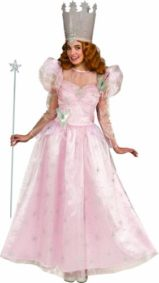 Rubies-Costume-Wizard-Of-Oz-Deluxe-Adult-Glinda-The-Good-Witch-Dress-with-Crown-0