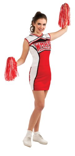 Rubies Costumes Womens Glee Cheerleader Adult Costume