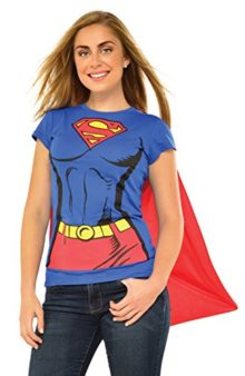 Rubies-DC-Comics-Supergirl-T-Shirt-with-Cape-Costume-880474-0