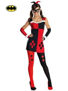 Rubies-DC-Super-Villains-Harley-Quinn-Tween-Costume-0
