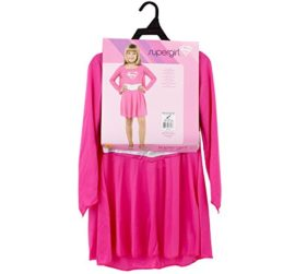 Rubies-Pink-Supergirl-Child-Costume-Size-Small-0-0