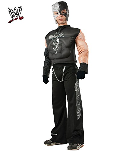 Rubies WWE Deluxe Muscle-Chest Rey Mysterio Costume