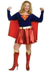 Rubies-Womens-Dc-Comics-Supergirl-Theme-Party-Fancy-Dress-Halloween-Costume-0