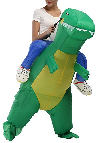 SASALO-Adult-Kids-Inflatable-Costume-Funny-Animal-Riding-Halloween-Blow-up-Suit-0-1