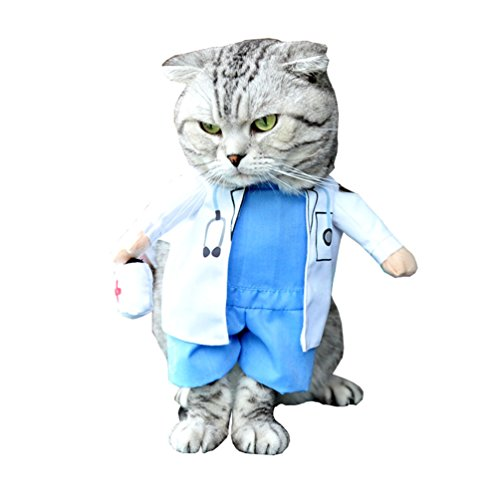 SMALLLEELUCKYSTORE-Small-Cat-Dog-Doctor-Costume-Fancy-Dress-Dog-Coat-Cape-0