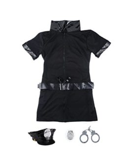 SSQUEEN-Womens-Sexy-Police-Uniform-Dirty-Cop-Officer-Masquerade-Clothes-with-Handcuffs-0-0