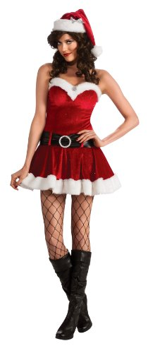Secret Wishes Christmas Collection Ms. Santa In Training Costume