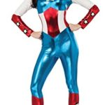 Secret-Wishes-Womens-Marvel-Universe-American-Dream-Costume-Cat-Suit-and-Eye-Mask-0