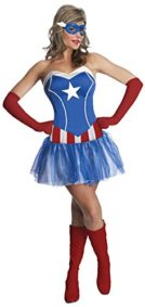 Secret-Wishes-Womens-Marvel-Universe-American-Lady-Costume-Tutu-Dress-and-Mask-0