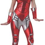 Secret-Wishes-Womens-Marvel-Universe-Iron-Man-Rescue-Costume-Cat-Suit-and-Mask-0