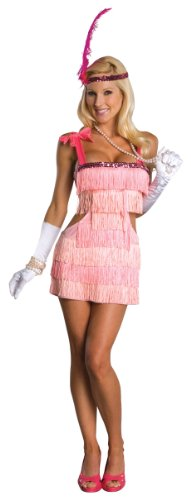 Secret Wishes Women's Pink Flapper Adult Costume