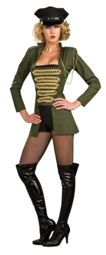 Secret Wishes Women's Playboy Military Babe Costume