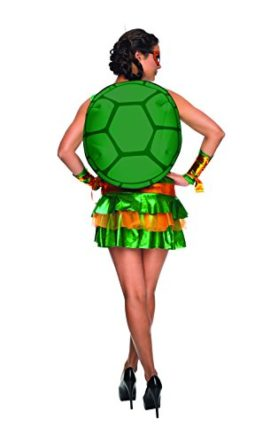 Secret-Wishes-Womens-Teenage-Mutant-Ninja-Turtles-Michelangelo-Costume-Dress-0-0
