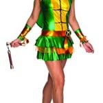 Secret-Wishes-Womens-Teenage-Mutant-Ninja-Turtles-Michelangelo-Costume-Dress-0-1