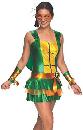 Secret-Wishes-Womens-Teenage-Mutant-Ninja-Turtles-Michelangelo-Costume-Dress-0
