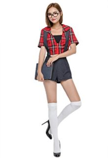 Sexy-Schoolgirl-Costume-Sexy-Ladies-School-Girl-Fancy-Dress-Costume-Student-Cosplay-Secretary-Game-Play-Night-Club-Clothes-0