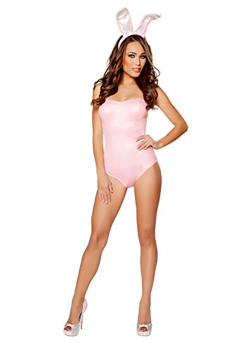 Sexy Women's 2pc Playful Pink Bunny Costume