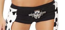 Sexy-Womens-Double-Gun-Belt-Buckle-w-Star-Detail-Cowgirl-Costume-Accessory-0