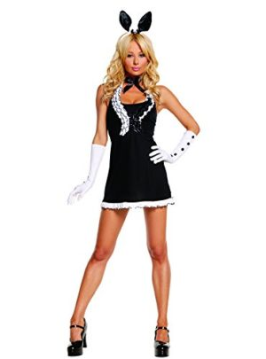 Sexy-Womens-Exotic-Black-Tie-Bunny-Adult-Roleplay-Costume-0
