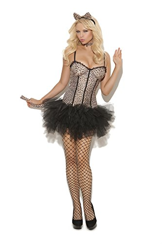 Sexy Women's Feline FiFi Cat Adult Roleplay Costume