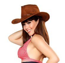 Sexy-Womens-Pinup-Sheriff-Hat-Wid-West-Cowgirl-Costume-Accessory-0