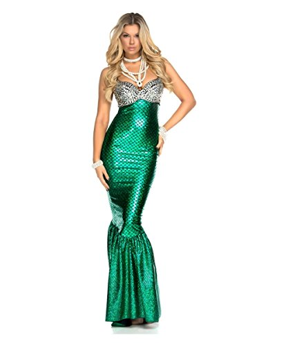 Shimmering Disney Little Mermaid Parade Ariel Womens Halloween Costume