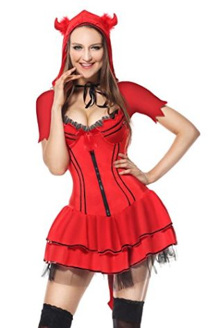 Sibeawen-Womens-Sexy-Devil-Body-Shaper-Halloweens-Costumes-0