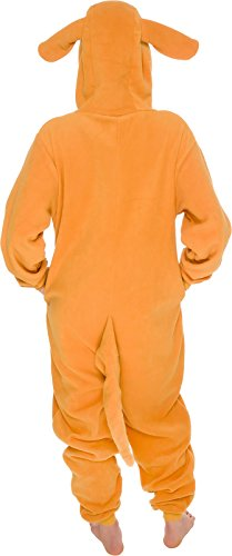 Slim-Fit-Animal-Pajamas-Adult-One-Piece-Cosplay-Kangaroo-Costume-by-Silver-Lilly-0-3
