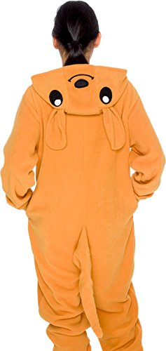 Slim-Fit-Animal-Pajamas-Adult-One-Piece-Cosplay-Kangaroo-Costume-by-Silver-Lilly-0-4