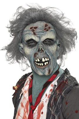Smiffys-Mens-Decaying-Zombie-Mask-with-Hair-0