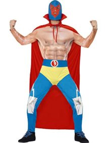 Smiffys-Mens-Mexican-Wrestler-Costume-0