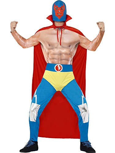 Smiffy's Men's Mexican Wrestler Costume