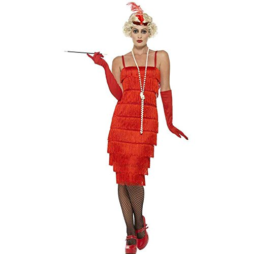 Smiffy's Women's 1920's Red Flapper Costume