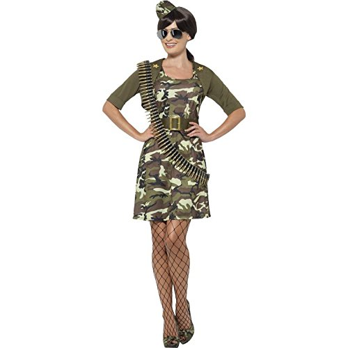 Smiffy's Women's Army Combat Cadet Costume