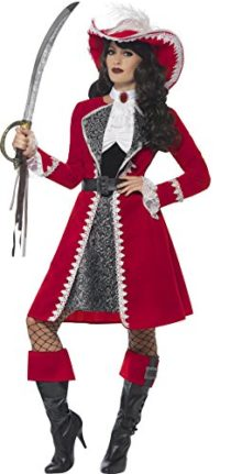 Smiffys-Womens-Deluxe-Authentic-Lady-Captain-Costume-0