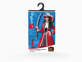 Smiffys-Womens-Deluxe-Authentic-Lady-Captain-Costume-0-3