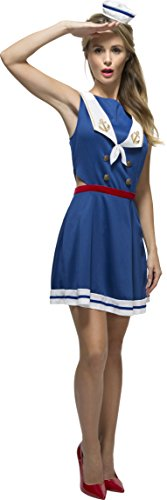 Smiffys-Womens-Fever-Hey-Sailor-Costume-0