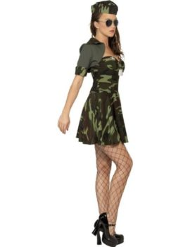 Smiffys-Womens-Military-Babe-Camouflage-Costume-0-0