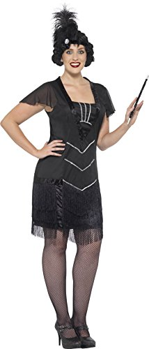 Smiffy's Women's Plus Size 1920's Flapper Costume