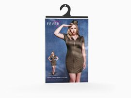 Smiffys-Womens-Plus-Size-Fever-Army-Costume-0-0