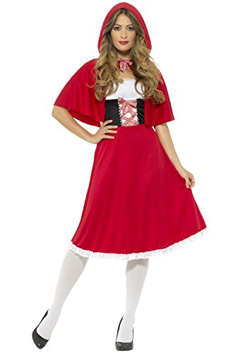 Smiffy's Women's Red Riding Hood Costume