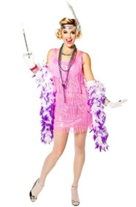 Snazzy-Flapper-Costume-Medium-Dress-Size-8-10-0