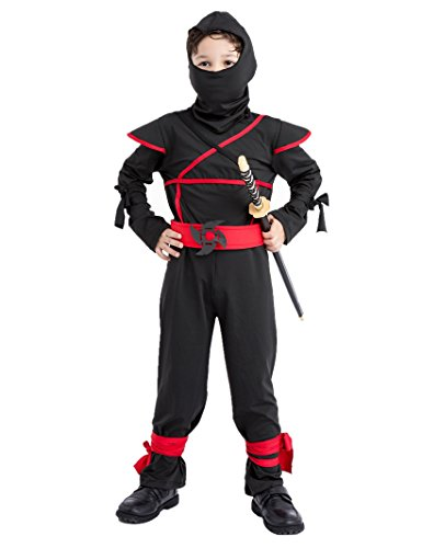 Sorrica-Kids-Hallowmas-Party-Cosplay-Fancy-Dress-Boys-Girls-Ninja-Costume-0