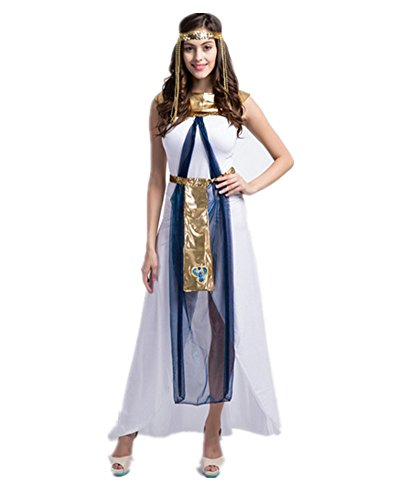 Sorrica Womens Deluxe Halloween Cosplay Costume Role Play Dress Up Outfit